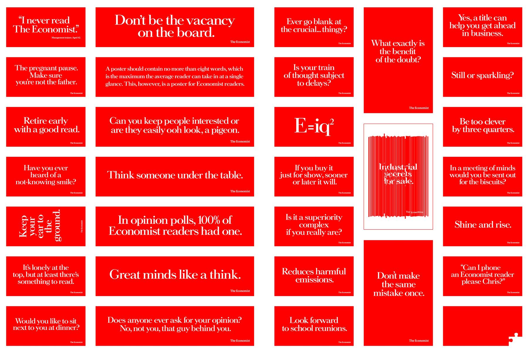 31 Economist headlines